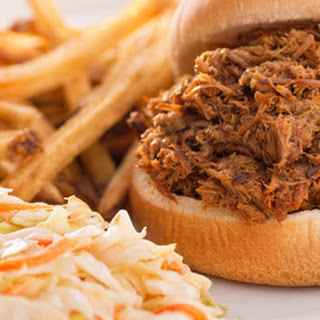 Easy Slow Cooker Texas BBQ Pulled Pork.