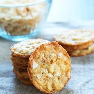 Thin & Crispy Gluten Free Coconut Cookies.