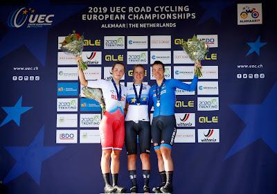 Hannah Ludwig en or dans le contre-la-montre espoirs de l'Euro de cyclisme