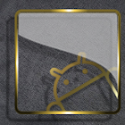 Thème d'or verre Icon Pack HD icon