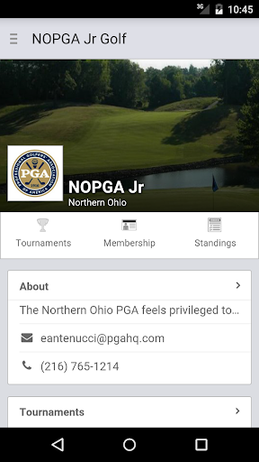 Northern Ohio PGA Jr. Tour
