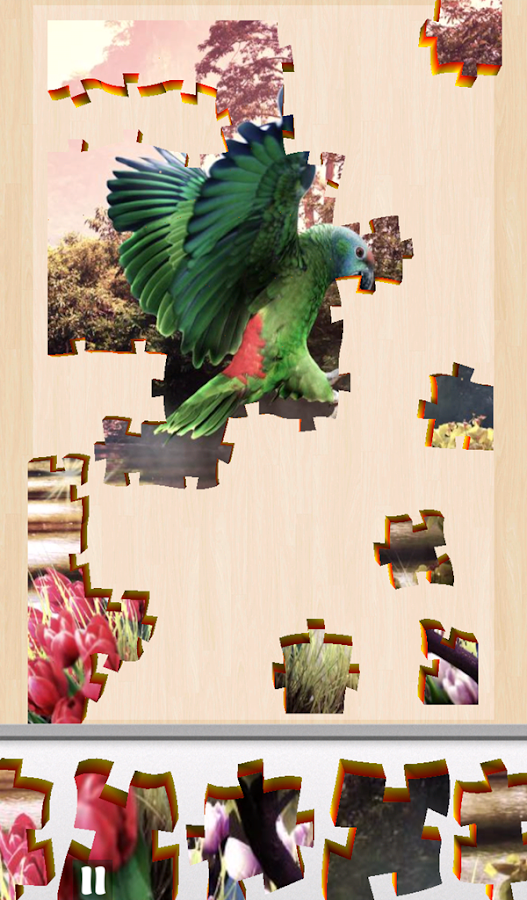 Live Jigsaws - Aviary Free- screenshot
