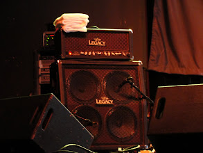 Photo: Gannin Arnold's amp