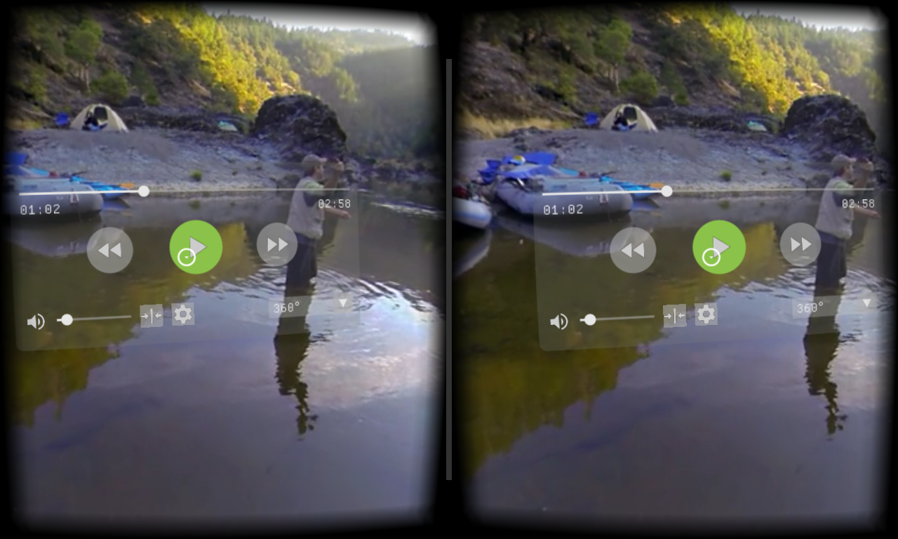 Magic VR Video Player- screenshot