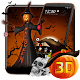 3D Halloween Pumpkin Night Theme (app)