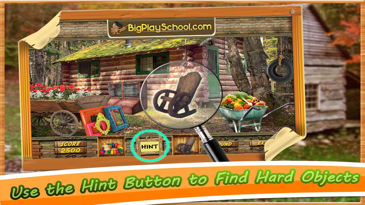 New Hidden Object Game Free New Cabin in the Woods- screenshot
