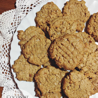 Coconut Oatmeal Peanut Butter Cookies