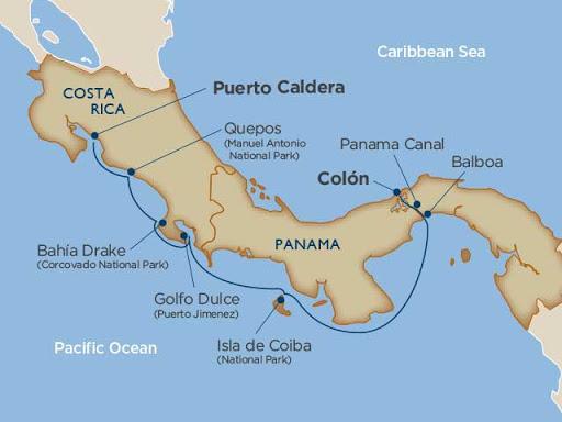 Costa Rica & Panama Canal