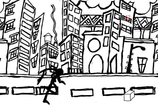Black Running Man