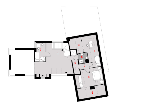 D166 - Rzut piętra