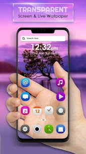 Transparent Screen & Live Wallpaper App Latest Version  Download For Android 9