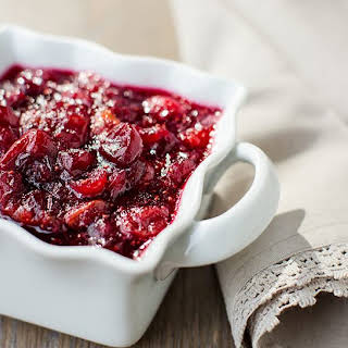 Slow Cooker Cranberry Sauce.