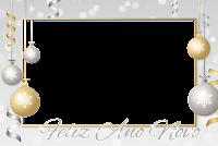 molduras-para-fotos-ano-novo-ouro-prata