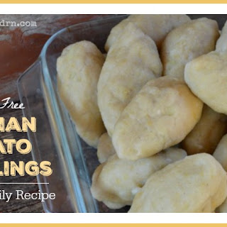 Grain Free German Potato Dumplings