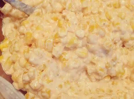Slow Cooker Cheesy Creamy Corn