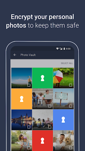 AVG AntiVirus Free & Mobile Security, Photo Vault screenshot 6