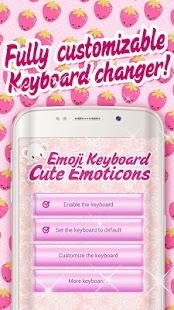 Emoji Keyboard Cute Emoticons - náhled