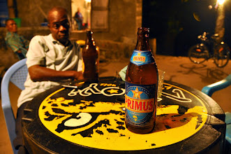 Photo: Primus beer is everywhere in the DRCongo
