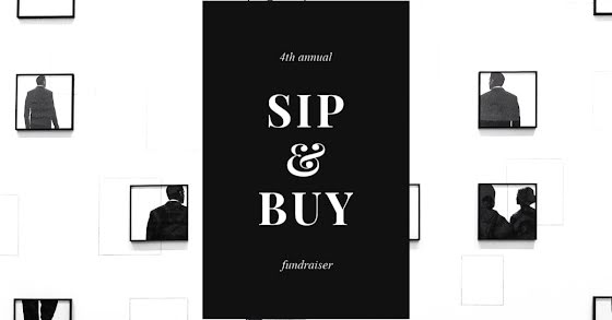 4th Annual Sip & Buy - Facebook Event Cover Template