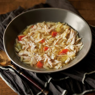 Chicken Orzo Soup (Tupperware Pressure Cooker)