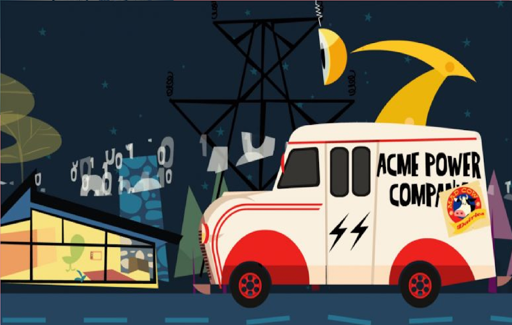 AMI Smart Meters Defined In Four Minute Cartoon