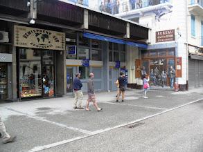 Photo: En el centro de Chamonix: ver el bureau de guides. Foto AHeredia