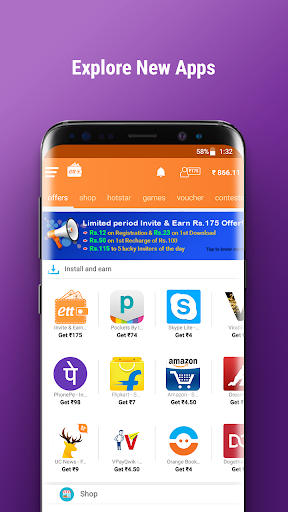 Earn Talktime - Get Recharges, Vouchers, & more! screenshot 8