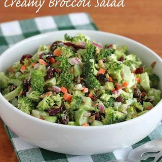 Crunchy Broccoli Salad.
