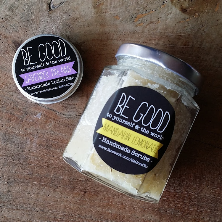 Body Set - Lavender Dreams and Mandarin Lemonade by BeGood