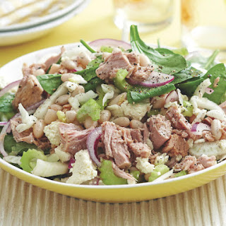 Tuna, Bean and Fennel Salad