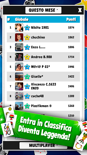 Scopone Piu00f9 - Giochi di Carte Social  screenshots EasyGameCheats.pro 4