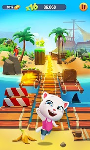 Talking Tom Gold Run Mod Apk 5.0.0.877 (Unlimited Money) 4
