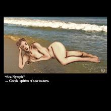 "Photo: ""Sea Nymph"" - Greek spirits of sea waters."