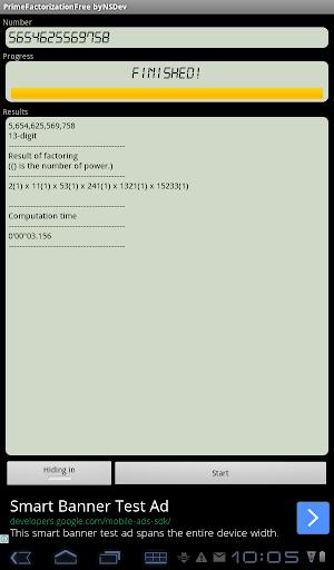 PrimeFactorizationFree byNSDev 1.0.1 Windows u7528 9