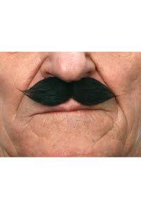 Mustasch Gentleman, svart