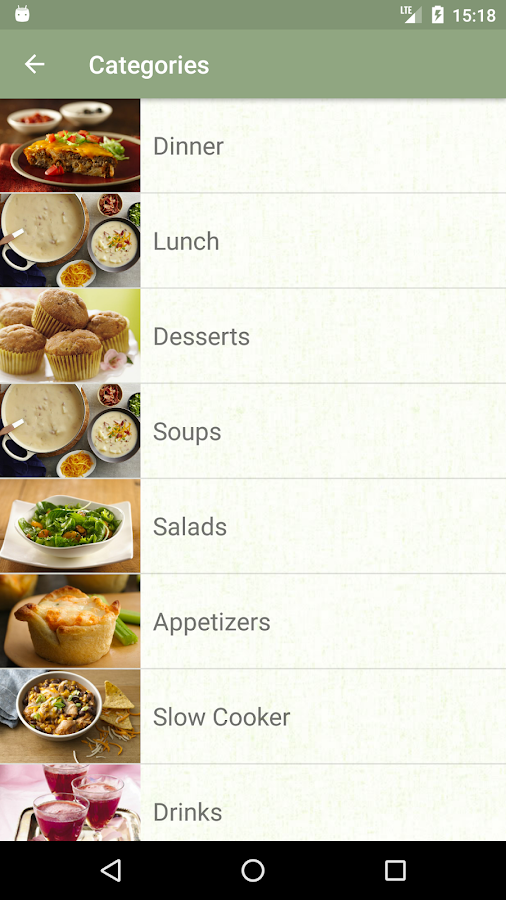Offline Recipes- screenshot
