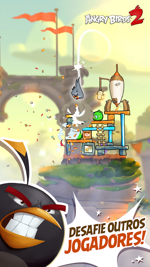 Angry Birds 2: captura de tela