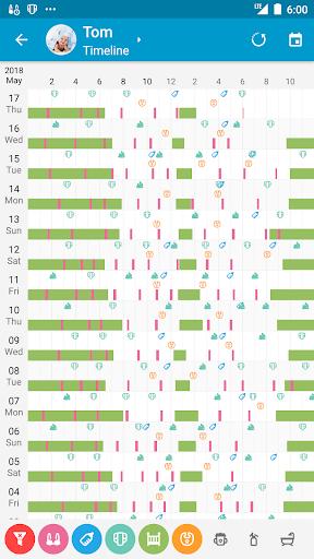 Baby Daybook — Baby Care Tracker screenshot