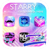 Starry Theme - ZERO Launcher