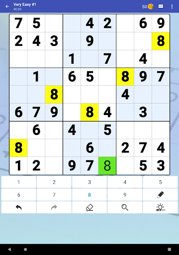 Sudoku Free - Classic Brain Puzzle Game screenshot 9