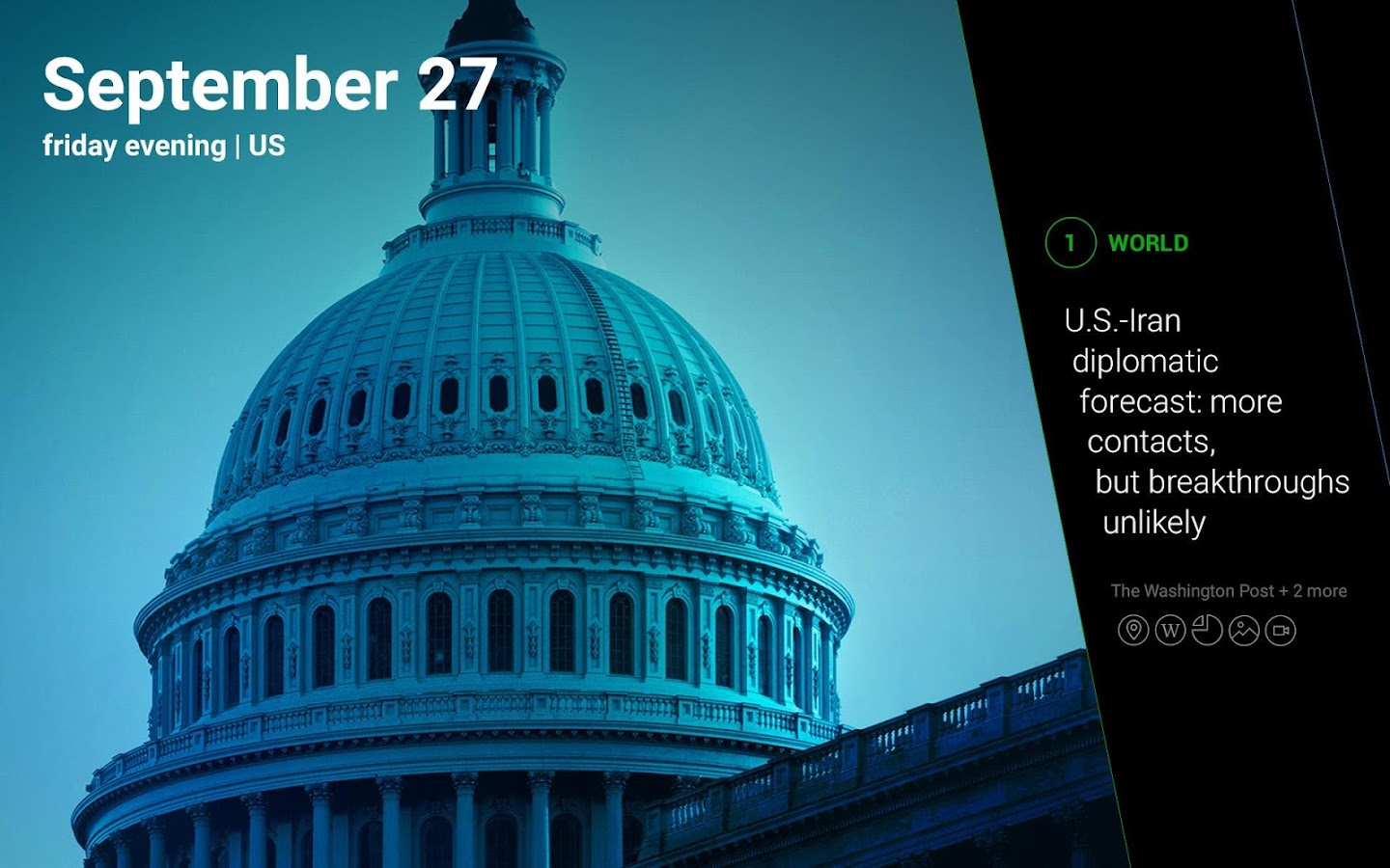 Yahoo News Digest- screenshot