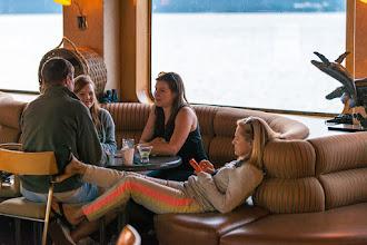 Photo: Relaxing as we cruise along