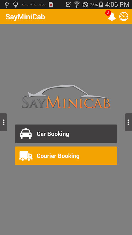 SayMiniCab Passenger- screenshot