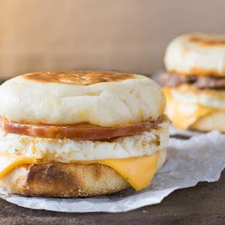 McDonald's Egg McMuffin.