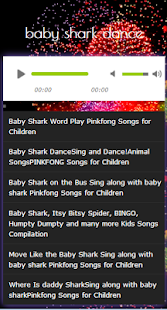 baby shark dance song - náhled