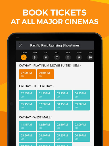 Popcorn: Movie Showtimes, Tickets, Trailers & News 5.10.29 screenshots 7