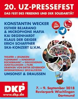 Plakat: UZ-Pressefest 2018.