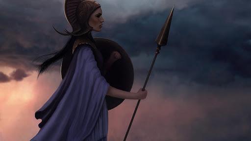 Athena Live Wallpaper