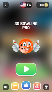 3D BOWLING PRO - Bowling games, strike for free - náhled