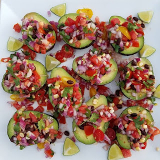 Party {Fiesta!} Avocado Cups